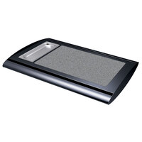 Hatco SRSS-1 Bold Black Serv-Rite Portable Heated Gray Granite Stone Buffet Warmer - 350W
