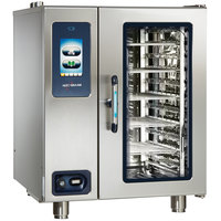 Alto-Shaam CTP10-10G Combitherm Proformance Natural Gas Boiler-Free 11 Pan Combi Oven - 120V