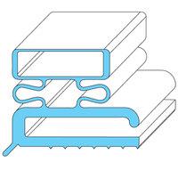 Traulsen 341-19775-03 Equivalent Rubber Magnetic Door Gasket - 11 3/8 inch x 23 3/8 inch