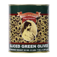 Sliced Green Olives - #10 Can