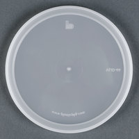 Microwavable Translucent Round Deli Container Lid - 500/Case