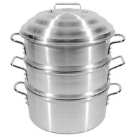 Town 34416S 16 inch 4.5 Gallon Aluminum Steamer Set