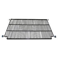 True 909152 Black Coated Notched Wire Shelf - 32 11/16 inch x 22 3/4 inch