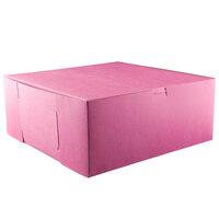 12 inch x 12 inch x 5 inch Pink Cake / Bakery Box - 100 / Bundle