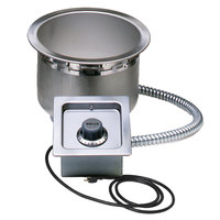 Wells SS8TUC 7 Qt. Round Drop In Soup Well with Cord - Top Mount, Thermostatic Control