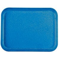 Carlisle 1410FG015 Customizable10 inch x 14 inch Glasteel Navy Fiberglass Tray - 12 / Case