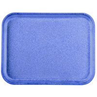 Carlisle 1410FG014 Customizable10 inch x 14 inch Glasteel Cobalt Blue Fiberglass Tray - 12 / Case
