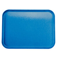 Carlisle 2015FG015 Customizable 15 inch x 20 inch Glasteel Navy Fiberglass Tray 12 / Case