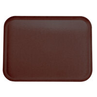 Carlisle 2015FG97030 Customizable 15 inch x 20 inch Glasteel Cherry Red Fiberglass Tray - 12/Case