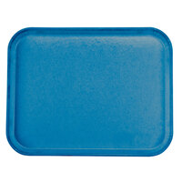 Carlisle 1814FG015 Customizable14 inch x 18 inch Glasteel Navy Fiberglass Tray - 12 / Case