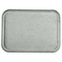 Carlisle 1612FG068 Customizable 12 inch x 16 inch Glasteel Gray Fiberglass Tray - 12 / Case