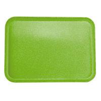 Carlisle 2216FGQ009 Customizable 16 inch x 22 inch Glasteel Lime Fiberglass Tray - 6/Case