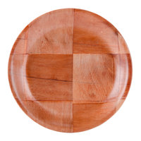 6 inch Woven Wood Plate - 12/Pack