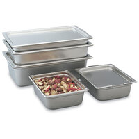 Vollrath 30225 Super Pan 2 1/2 inch Deep Half Size Transport Pan