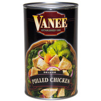 Vanee 456DC Deluxe Pulled Chicken - 50 oz. Can