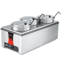 Vollrath 72788 Heat 'N Serve 4/3 Size Countertop Rethermalizer / Warmer Package - 120V, 1600W