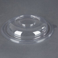 Fineline 5032-L Super Bowl Clear PET Plastic Dome Lid for 32 oz. Bowls   - 50/Pack