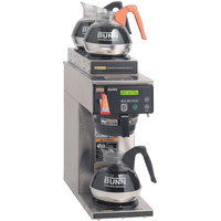 Bunn Axiom 15-3 Automatic Coffee Brewer with 1 Lower and 2 Upper Warmers 120V (Bunn 38700.0000)