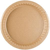 "Solut 29020 9"" Coated Kraft Paper Plate - 400/Case"