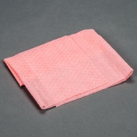 Chicopee 8294 Quix Plus 13 1/2 inch x 20 inch Pink Medium-Duty Sanitizing Foodservice Wiper - 72 / Case
