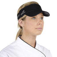 Black Headsweats 7703-202 CoolMax Chef Visor