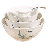 Blue Bamboo Melamine 56 oz. Rice Bowl – 8 inch 12 / Pack