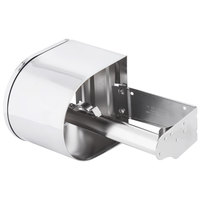 Continental 876C Double Toilet Tissue Dispenser 4 inch Chrome Toilet Paper Holder