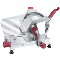Berkel 827E-PLUS 12 inch Manual Gravity Feed Meat Slicer -1/3 hp