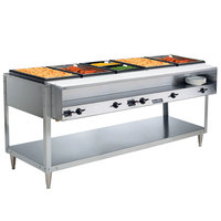 Vollrath 38105 ServePan Electric Five Pan Hot Food Table 120V - Sealed Well