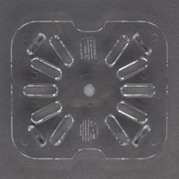 Carlisle 3068907 StorPlus 1/6 Size Clear Polycarbonate Drain Tray