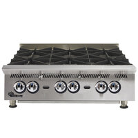 Star 808HA Ultra Max 8 Burner Countertop Range / Hot Plate 240,000 BTU - 48 inch