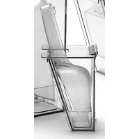Cal Mil 790 Wall Mount Scoop Holder with Scoop and Drip Tray 6 oz.