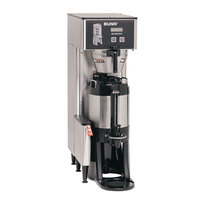 Bunn 34800.0017 BrewWISE Single ThermoFresh DBC Brewer with Funnel Lock - 120V, 2200W