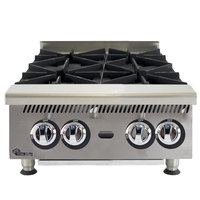 Star 804HA Ultra Max 4 Burner Countertop Range / Hot Plate 120,000 BTU - 24 inch