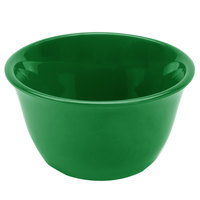7 oz. Green Smooth Melamine Bouillon Cup - 12/Case