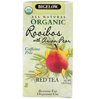 Bigelow Organic Rooibos Tea with Asian Pear - 20 / Box