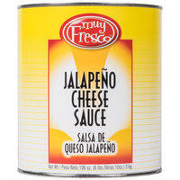 Advanced Food Products A5MUY1-EY Jalapeno Nacho Cheese Sauce #10 Can
