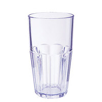 GET 9922-1-BL Bahama 22 oz. Blue Break-Resistant Plastic Tumbler - 72/Case