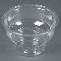 8 oz. Clear PET Sundae Cup - 1000 / Case