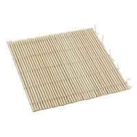 9 1/2 inch x 9 1/2 inch Bamboo Sushi Rolling Mat