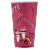 Dart Solo 420SI-0041 Bistro 20 oz. Poly Paper Hot Cup - 40 / Pack