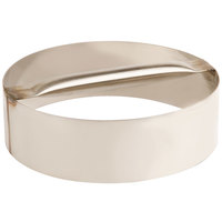 American Metalcraft RDC10 10 inch x 3 inch Stainless Steel Dough Cutting Ring