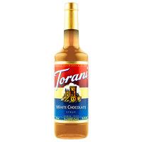 Torani 750 mL White Chocolate Flavoring Syrup