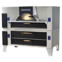Bakers Pride FC-816/Y-800 IL Forno Classico Liquid Propane Double Deck Oven - 66 inch
