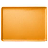 Carlisle 1520LFG019 Customizable 15 inch x 20 inch Glasteel Rust Dietary Fiberglass Tray - 12/Case