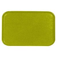 Carlisle 2618FGQ008 Customizable Avocado 18 inch x 26 inch Glasteel Display / Bakery Fiberglass Tray - 6/Case