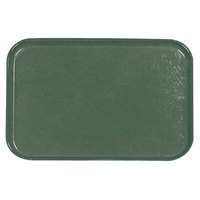 Carlisle 2618FGQ053 Customizable Jade 18 inch x 26 inch Glasteel Display / Bakery Fiberglass Tray - 6/Case