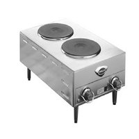 Wells H70 Electric Countertop Two Burner French Hot Plate - 4000W