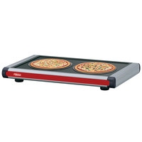 Hatco GR2S-42 42 inch Glo-Ray Warm Red Designer Portable Heated Shelves with Black Caps - 600W