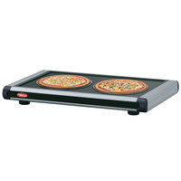 Hatco GR2S-54 54 inch Glo-Ray Black Designer Portable Heated Shelves with Black Caps - 800W
